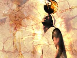Ronaldinho Wallpaper by LFCRed