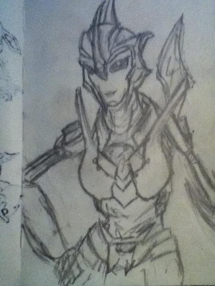 Newer Drawings by eldarplayer
