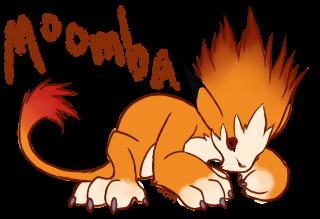 ::FA:: Moomba Sleepy Chibi by lizziecat1279