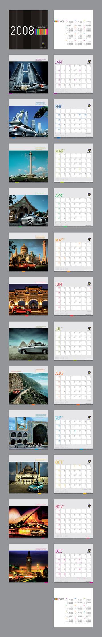 Proton Calendar 2008 by yienkeat