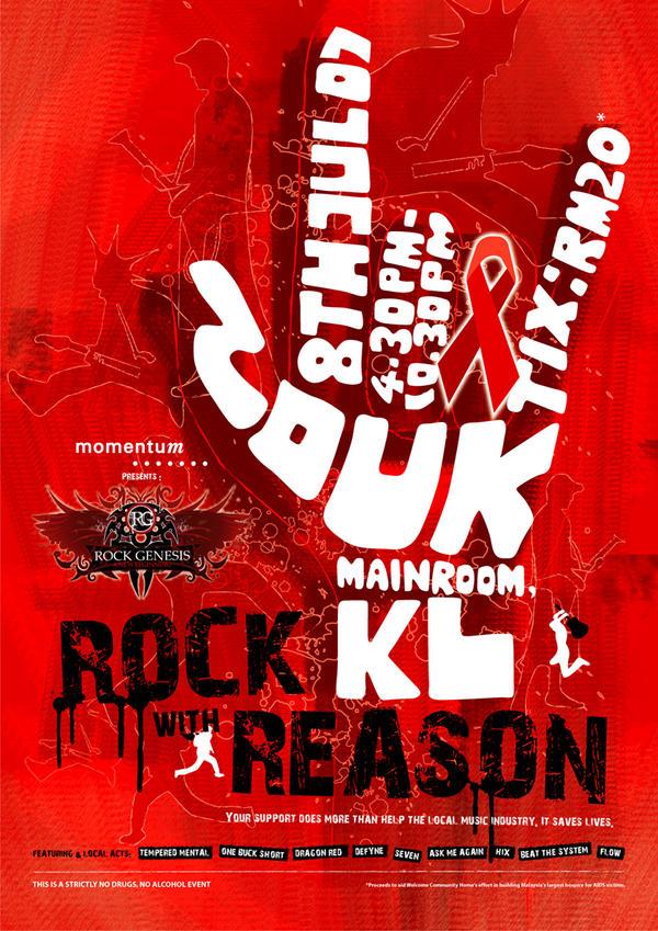 Rock Genesis Poster Design by yienkeat