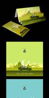 Proton Festive Greeting Cards