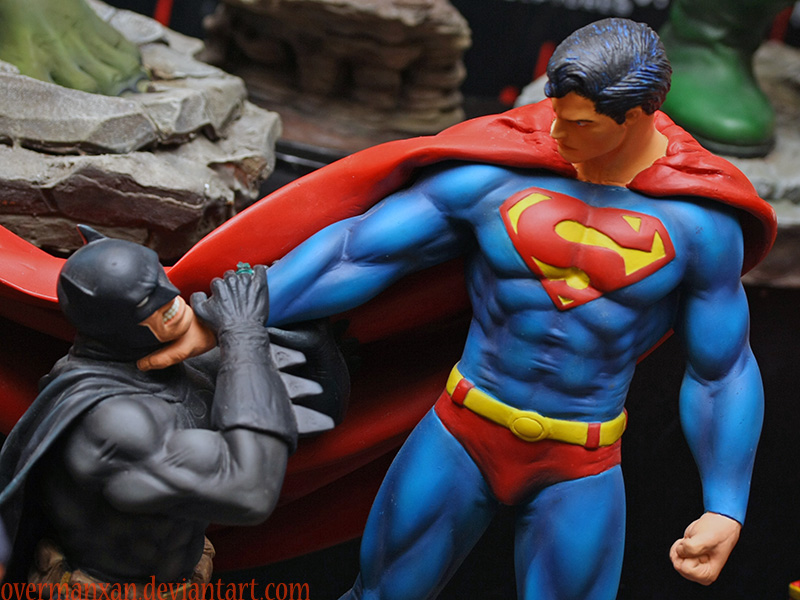 Batman vs Superman by OvermanXAN