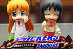 Hakase recommends Snickers