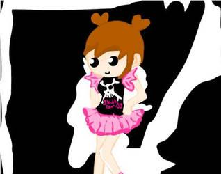 Skull Candy girl