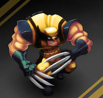 Wolverine by Gus-Santome