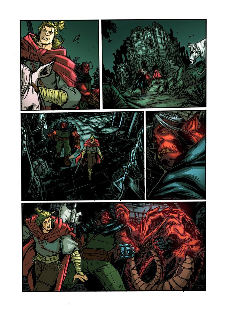 Dragonero Color Sample Page by Gus-Santome