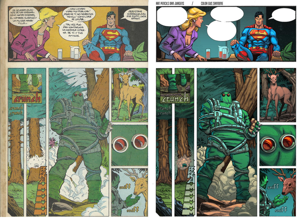 The Death of Superman - 01 - digitally remastered by Gus-Santome