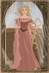 Medieval Princess Rapunzel