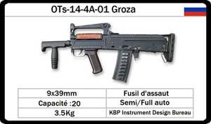 KBP OTs-14-4A-01 Groza