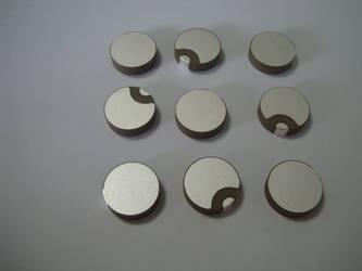 Piezoelectric Ceramic Disc (Disk) by bjultrasonic