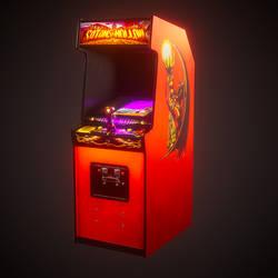 Arcade Satan's Hollow by ratonmalo