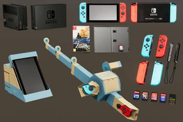 Nintendo Switch Set by ratonmalo