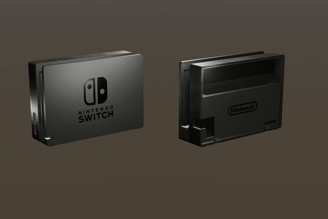 Nintendo Switch Dock by ratonmalo