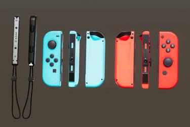 Nintendo Switch JoyCons by ratonmalo
