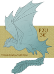 P2U Lineart - Wyvern Dragon! [ALWAYS OPEN] by vixiak