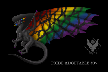 PRIDE DRAGON ADOPTABLE #11 [CLOSED]
