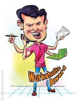 Prashant-Workaholic Award