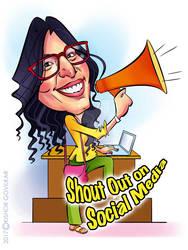 Radhika-SMedia Award