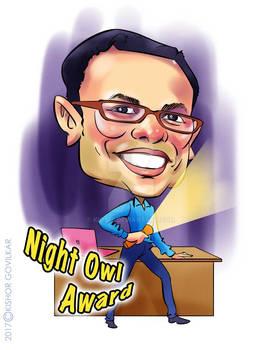 Rakesh-caricature