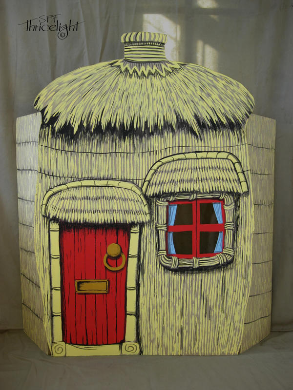3 Little Pigs Stick House images