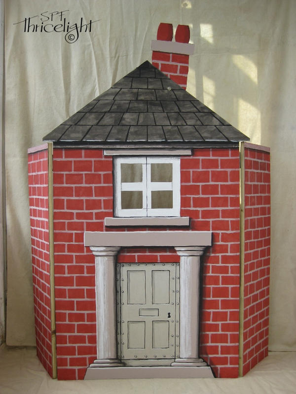 Three Little Pigs Brick House By Thricelight On Deviantart
