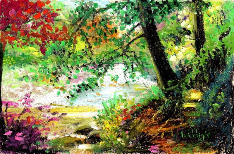 River Brock Teeming by Thricelight