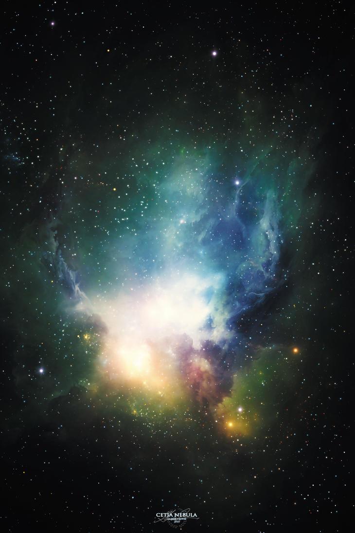 Cetia Nebula by GlennClovis