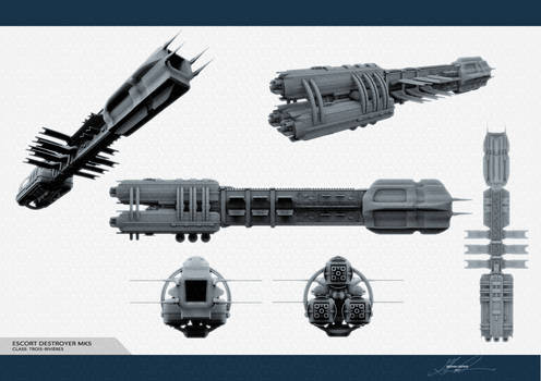 WIP - Trois Rivieres Destroyer