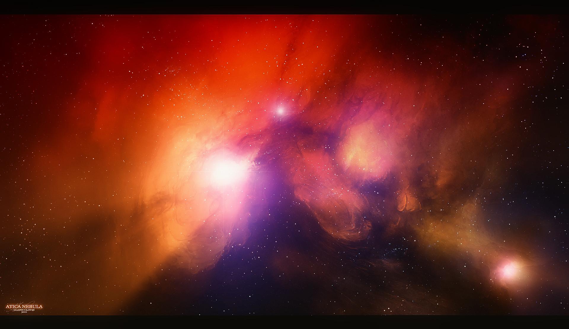 Atica Nebula by GlennClovis