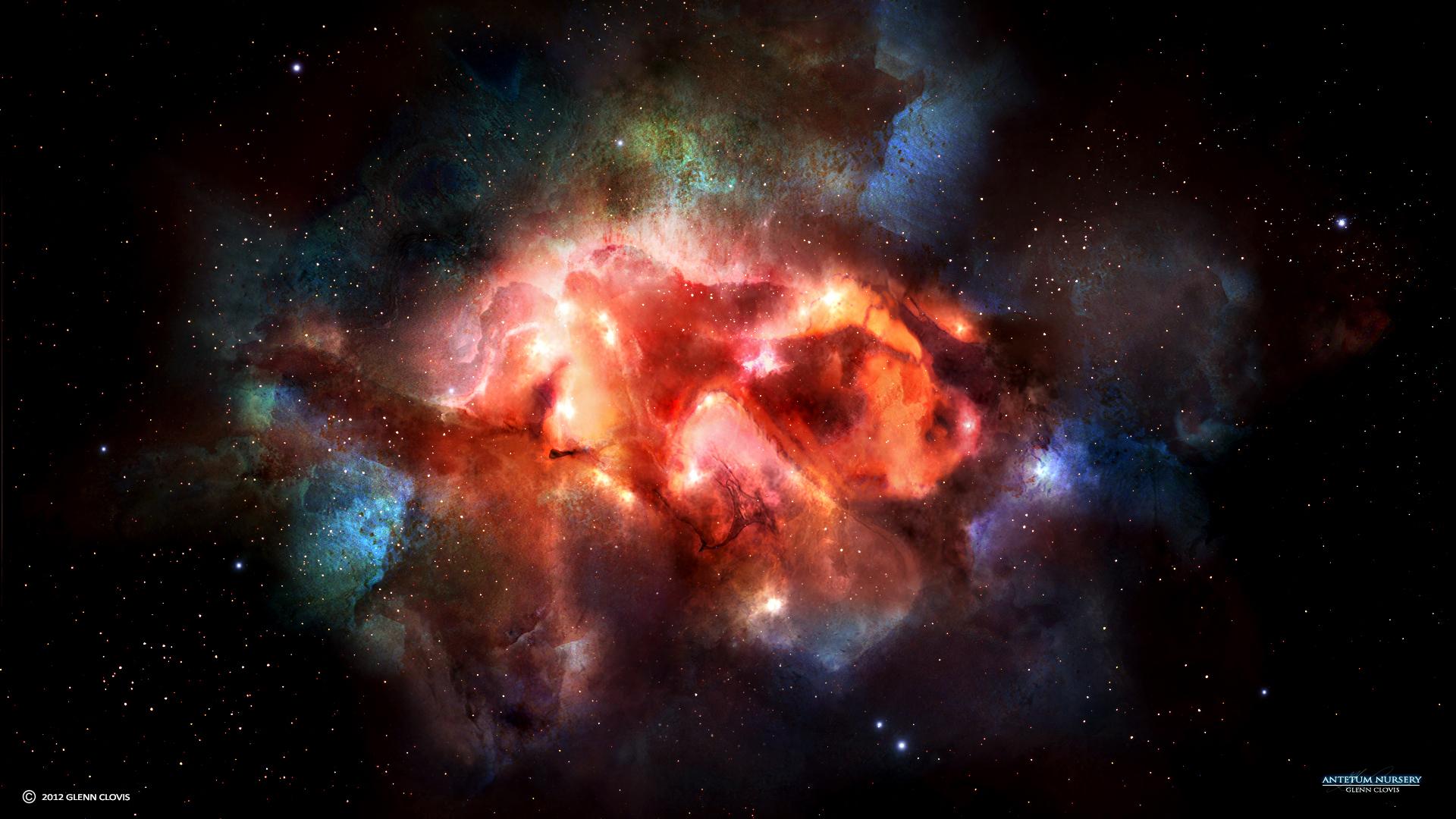 Antetum Nebula by GlennClovis