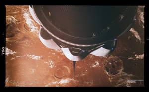 Space Elevator - Mars by GlennClovis