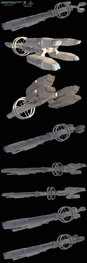 Carrier Concept-MK3-Variants