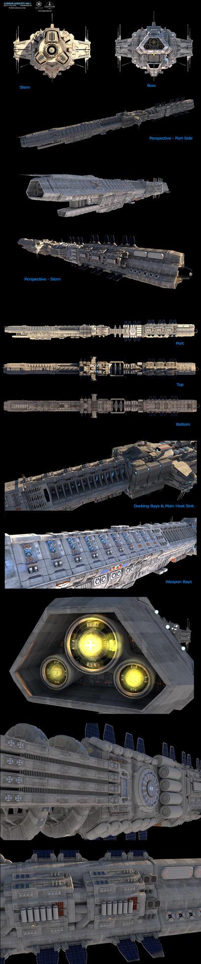 Carrier Concept-MK5 by GlennClovis
