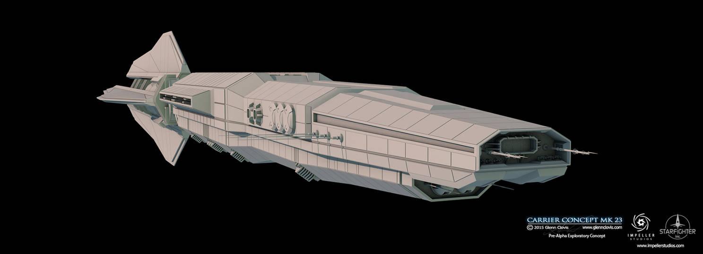 Carrier Concept-mk23-HDR by GlennClovis