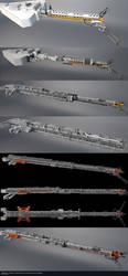 Midway Station - Refueling Arm Design Progression by GlennClovis