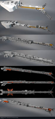 Midway Station - Refueling Arm Design Progression