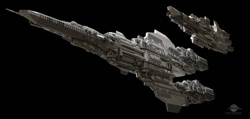 Coral Sea Class Battleship by GlennClovis