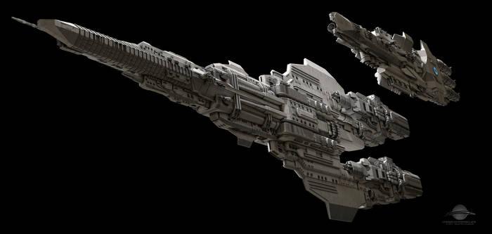 Coral Sea Class Battleship