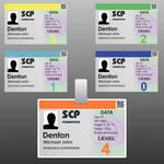SCP member card