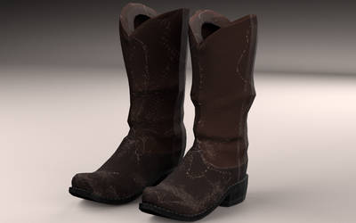 Boots-lowpoly