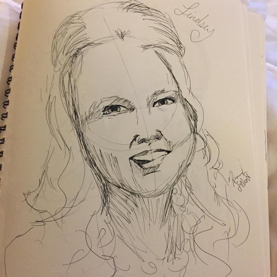 Portrait Study by Hmelliott1515