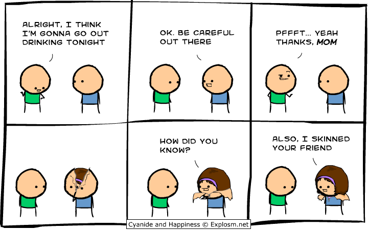 Cyanide And Happiness Time Traveling Watch