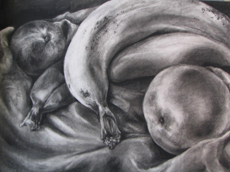 Fruits In Charcoal By Jestercat On DeviantArt