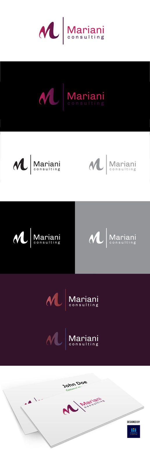 Mariani Logo Template by crazygenk