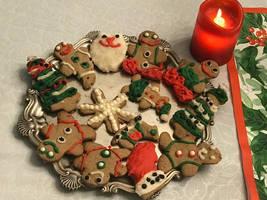 Christmas dinner dessert