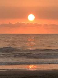 The last sunset in Peru