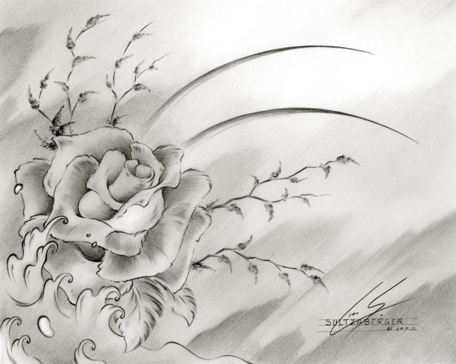 Drawing: Flower Drawings