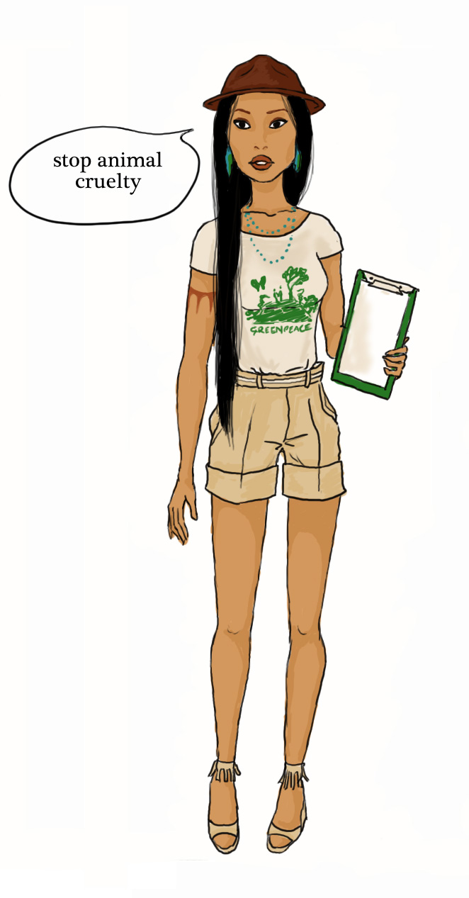 Modern pocahontas by ailinne on deviantart for Modern drawing styles