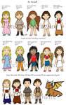 Silvery Earth Kids character sheet